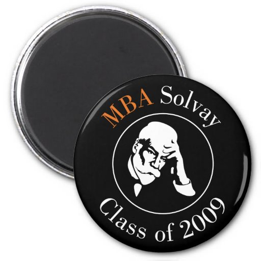 MBA Solvay - Class of 2009 2 Inch Round Magnet