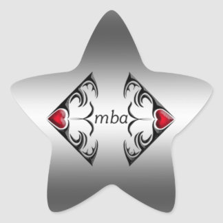 mba star sticker