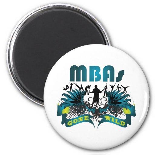 MBAs Gone Wild Refrigerator Magnets