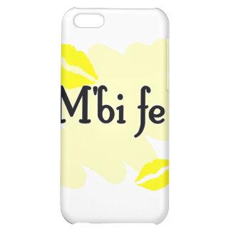 M'bi fe - Bambara - I Love You iPhone 5C Covers