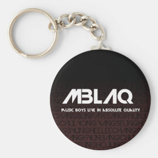 MBLAQ custom-made merchandise Basic Round Button Keychain
