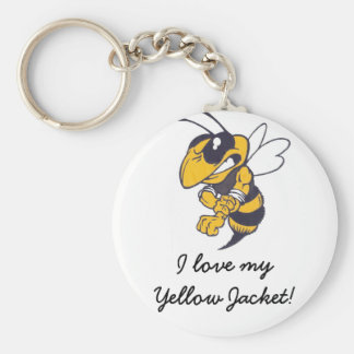 Mbrfl Yellow Jackets Under 10 Keychain