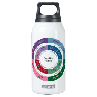 MBTI Personality: Cognitive Function Chart Insulated Water Bottle