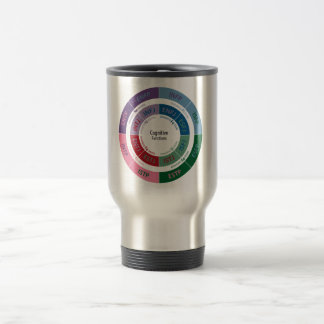 MBTI Personality: Cognitive Function Chart Travel Mug