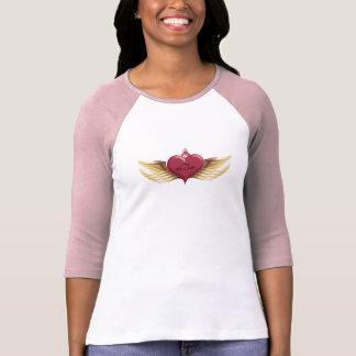 MBW - Corazón con alas Camiseta