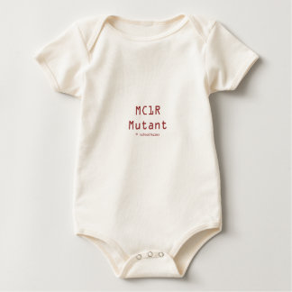 MC1R Mutant Baby Bodysuit