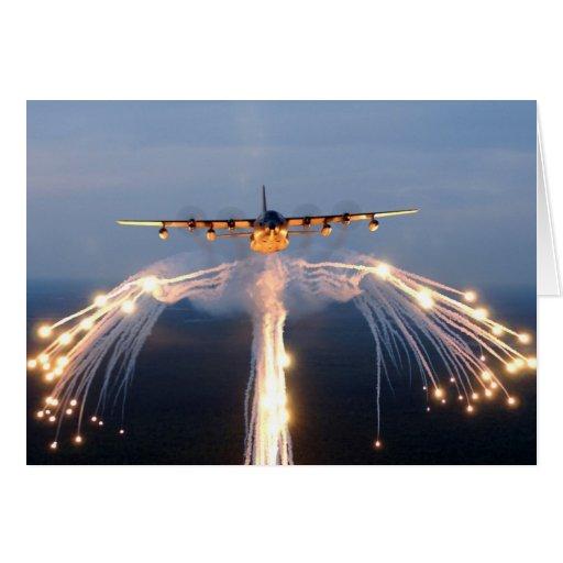 Mc-130 Tarjeta De Felicitación