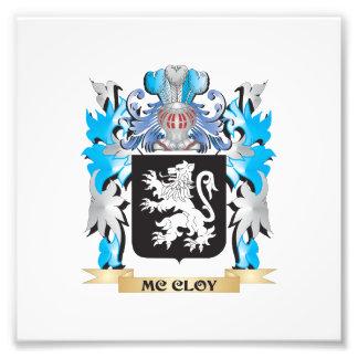 Mc-Cloy el escudo de armas - escudo de la familia Fotografía