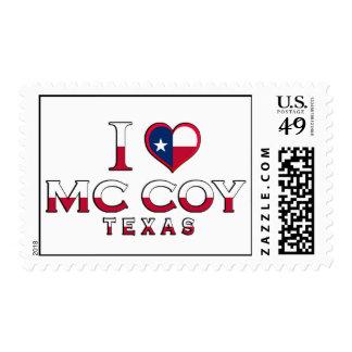 Mc Coy, Texas Stamps