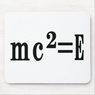 mc ² =E Mouse Pad