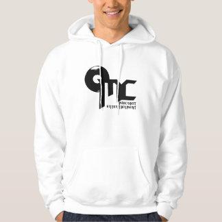 MC Ent Hooded Sweatshirt - Black on White
