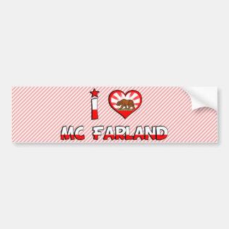 Mc Farland CA Bumper Sticker