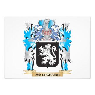 Mc-Lughaidh Coat of Arms - Family Crest Cards