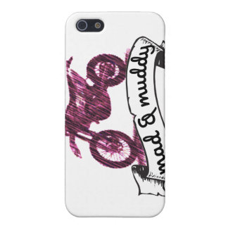 MC Mad & muddy motorcycle Case For iPhone SE/5/5s