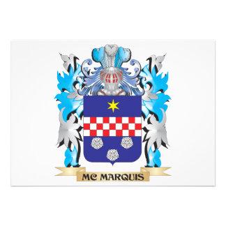Mc-Marquis Coat of Arms - Family Crest Announcement