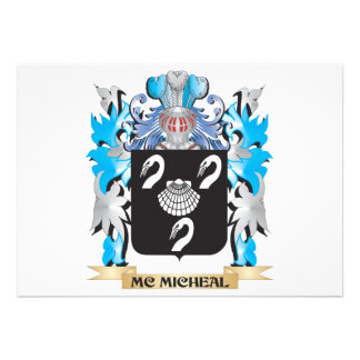 Mc-Micheal Coat of Arms - Family Crest Announcement