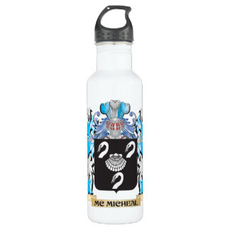 Mc-Micheal Coat of Arms - Family Crest 24oz Water Bottle