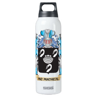Mc-Micheal Coat of Arms - Family Crest 16 Oz Insulated SIGG Thermos Water Bottle