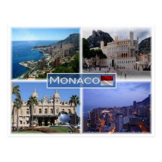 MC Monaco - Montecarlo - Postcard