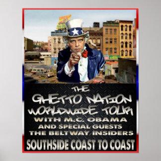 MC Obama Poster