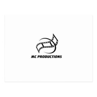 MC PRODUCTIONS COMMERATIVE POSTCARD