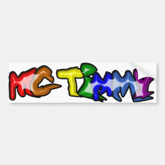 MC Timmy Bumper Sticker