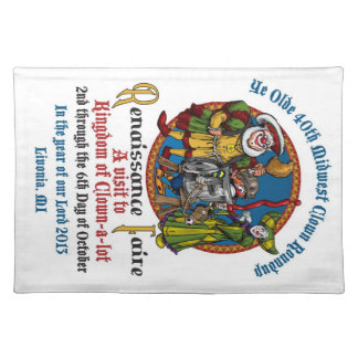 MCA 40th Placemat Cloth Placemat