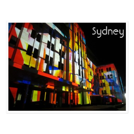 mca vivo de Sydney Tarjetas Postales