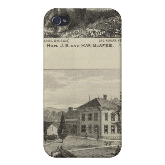 McAfee property, Topeka McCrumb, Kansas iPhone 4 Case