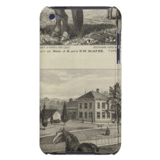 McAfee property, Topeka McCrumb, Kansas iPod Case-Mate Cases