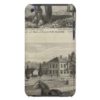 McAfee property, Topeka McCrumb, Kansas iPod Touch Cover