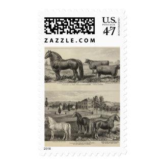 McAfee property, Topeka McCrumb, Kansas Postage