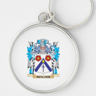 Mcaleer Coat of Arms - Family Crest Keychain