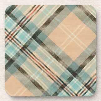 McAleer Diana Rose Tartan Cork Coaster 6 Pack