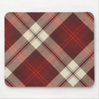 McAleer Gigha Cherry Tartan Mouse Pad