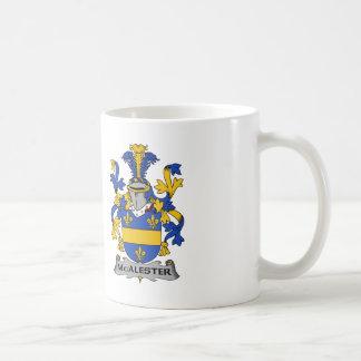 McAlester Family Crest Coffee Mug