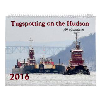 McAllister Tugspotting 2016 Calendar