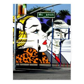 McAnus Street Postcard