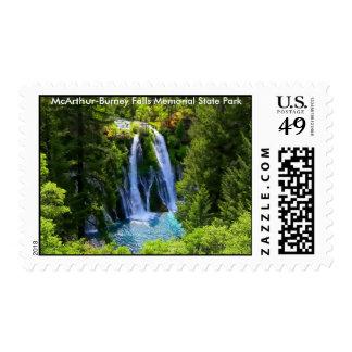McArthur-Burney Falls Memorial State Park Stamps