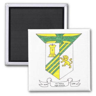 McAuley High School 1958-1988 2 Inch Square Magnet