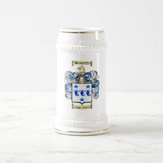 McAuliffe Beer Stein