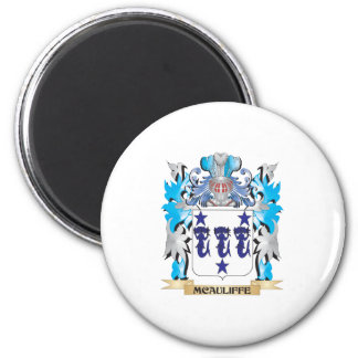 Mcauliffe Coat of Arms - Family Crest Refrigerator Magnets