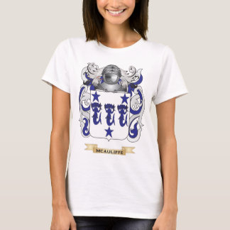 McAuliffe Coat of Arms (Family Crest) T-Shirt