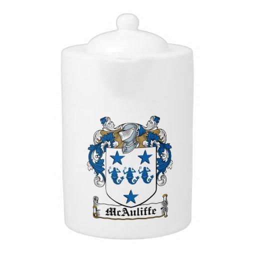 McAuliffe Family Crest