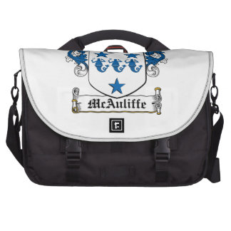 McAuliffe Family Crest Bags For Laptop