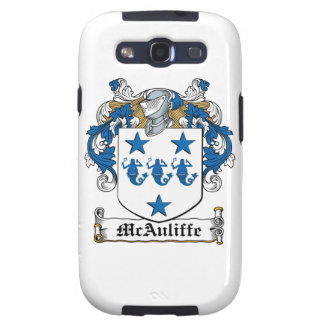 McAuliffe Family Crest Galaxy SIII Cover
