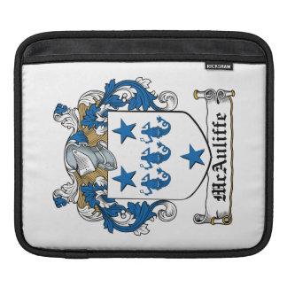 McAuliffe Family Crest iPad Sleeves