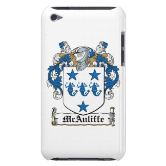 McAuliffe Family Crest iPod Touch Cover