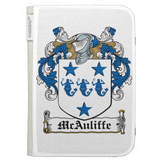 McAuliffe Family Crest Kindle 3G Cases