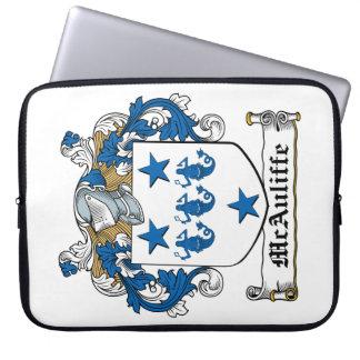 McAuliffe Family Crest Laptop Sleeve